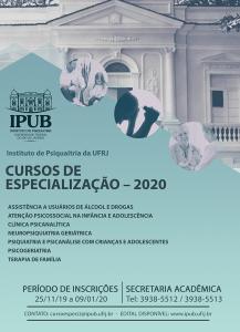 Cartaz lato sensu 2020